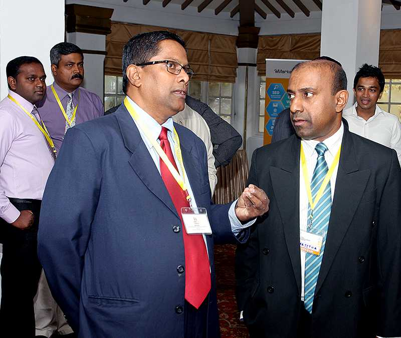 People at the National Hotel Management Conference 2015