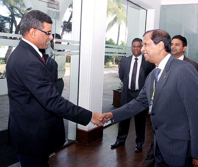 Greeting guests at the National Hotel Management Conference 2015