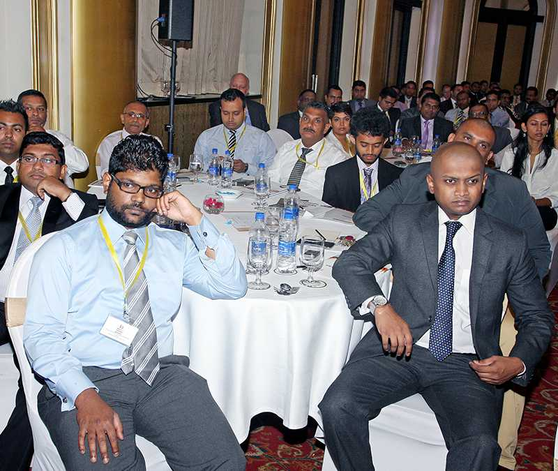 Guests at the National Hotel Management Conference 2015