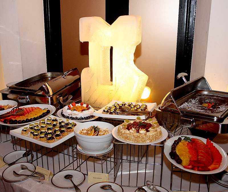Dessert Table of the National Hotel Management Conference 2015