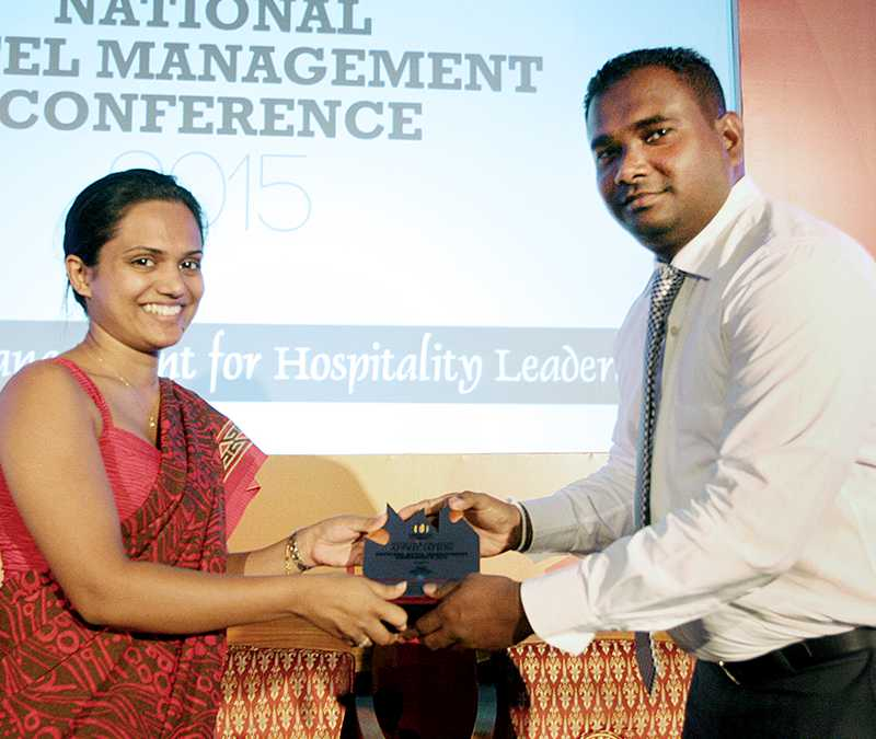 Awarding the candidate at the NHMC 2015